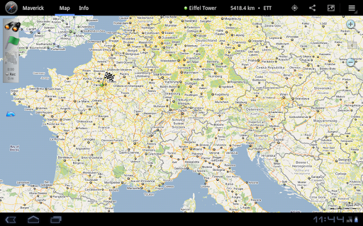 Maverick: GPS Navigation  screenshots 7