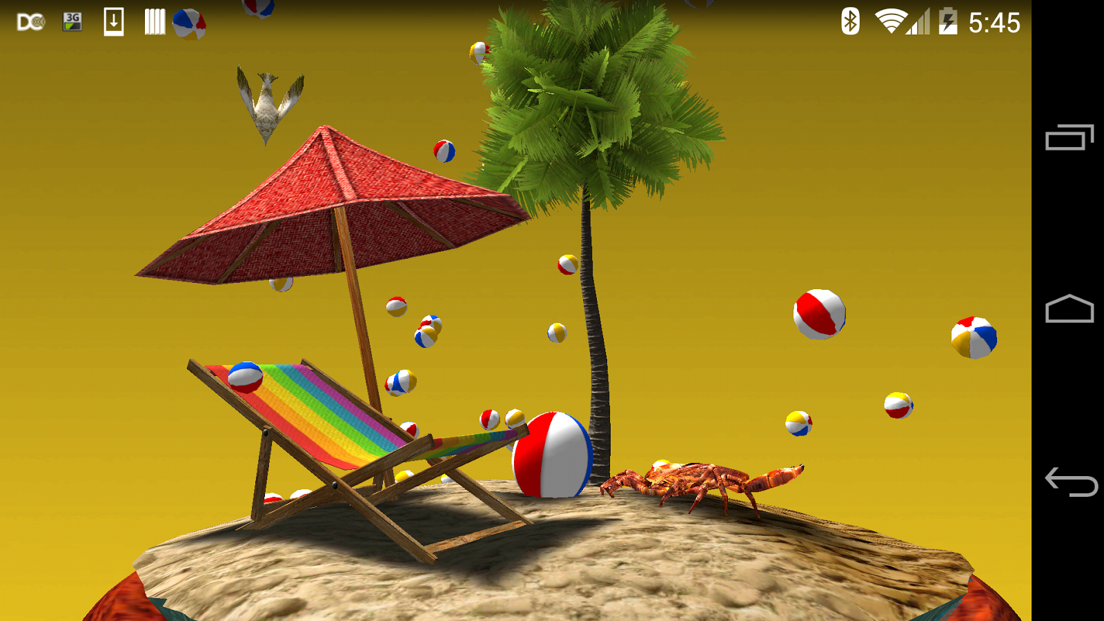 Shake It Up 3D: Seasons LWP- screenshot