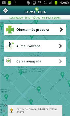 Farmaguia - screenshot