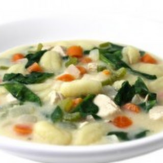 Olive Garden Chicken Gnocchi Soup Made Skinny