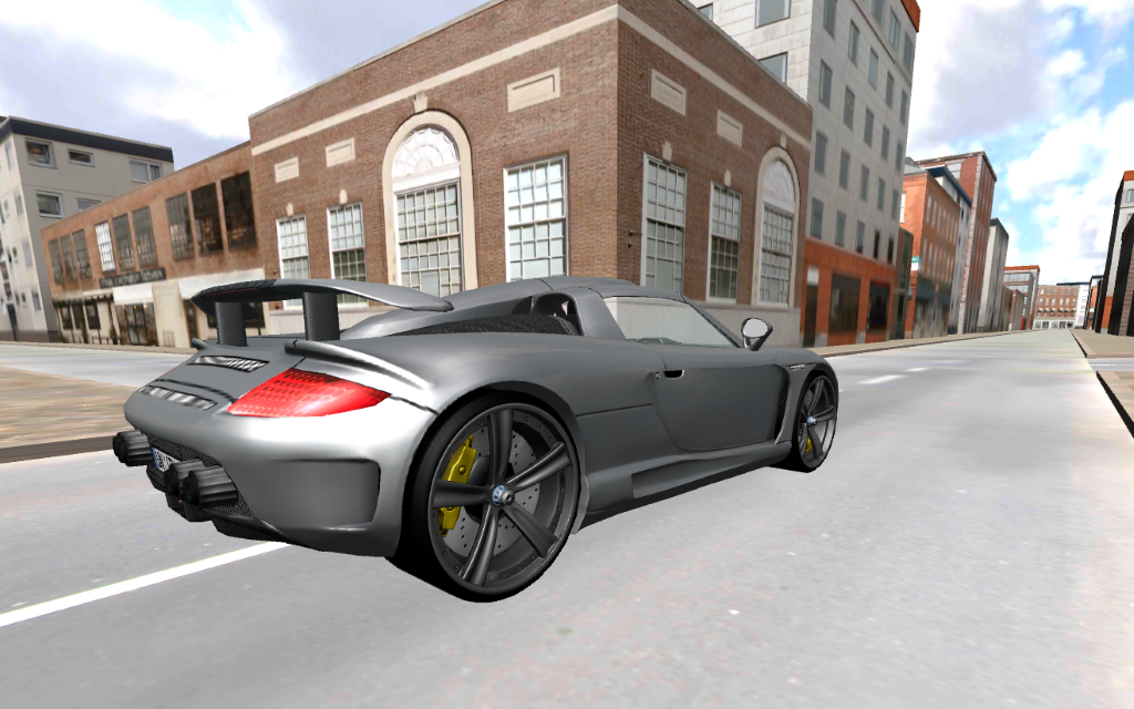 free car driving screenshot