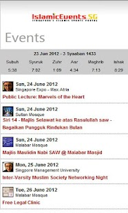 IslamicEvents- screenshot thumbnail