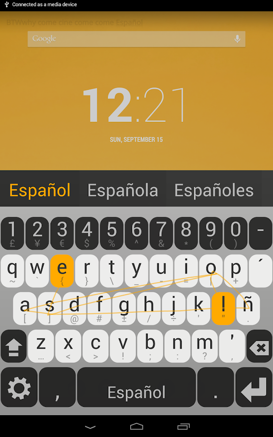 how to add spanish to keyboard
