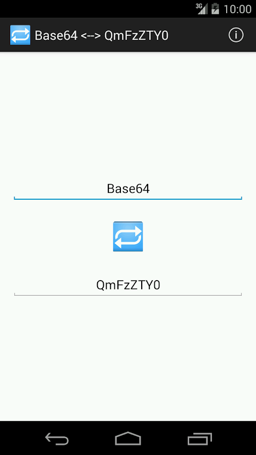 Base64 ⇄ QmFzZTY0- screenshot