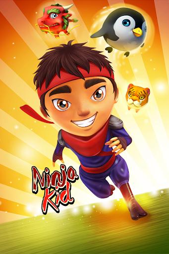 Ninja Kid Run Free - Fun Games 1.2.9 screenshots 2