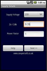 CABLE SIZE CALCULATOR BS 7671 v1.3