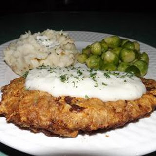 Southern Chicken Fried Steak.