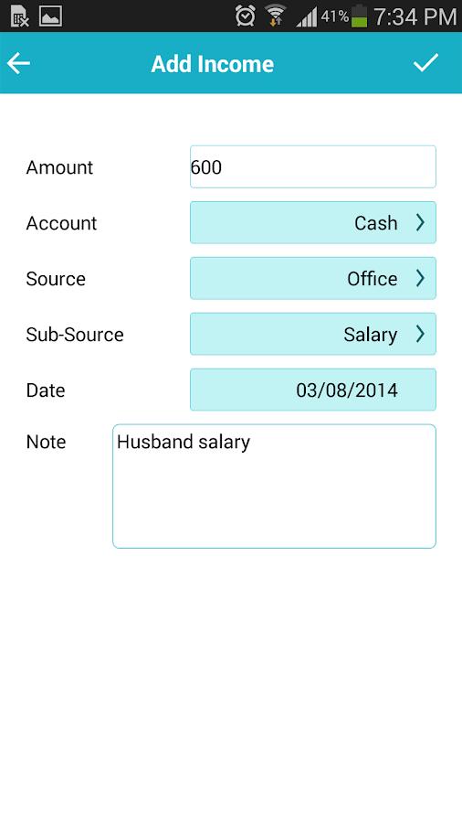 Expense Manager - Saving money- screenshot