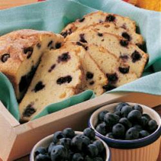 Blueberry Loaf Cake.