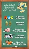 Screenshot of Cam's Preschool ABC & Spell