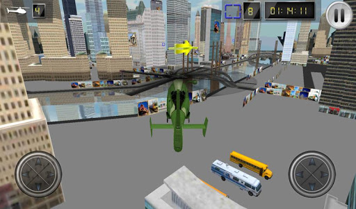 玩免費模擬APP|下載直升机停车模拟器 app不用錢|硬是要APP