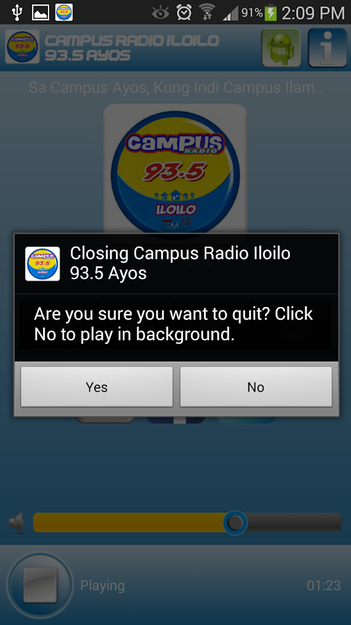 Campus Radio Iloilo 93.5 Ayos - screenshot