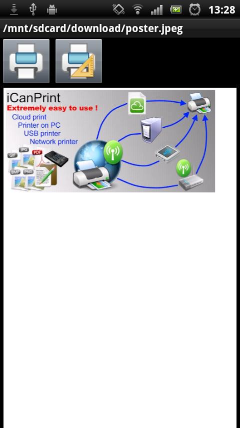 iCanPrint - screenshot