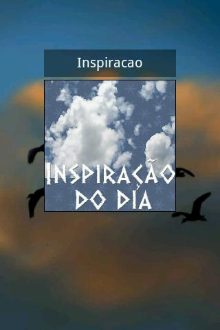 Inspiração do dia