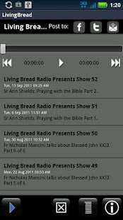 Living Bread Radio - screenshot thumbnail
