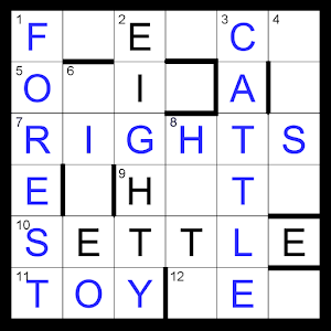Compact Crossword