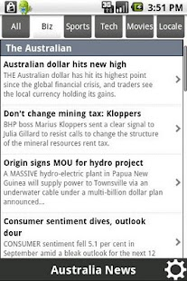 News Australia - screenshot thumbnail