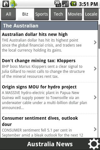 News Australia - screenshot