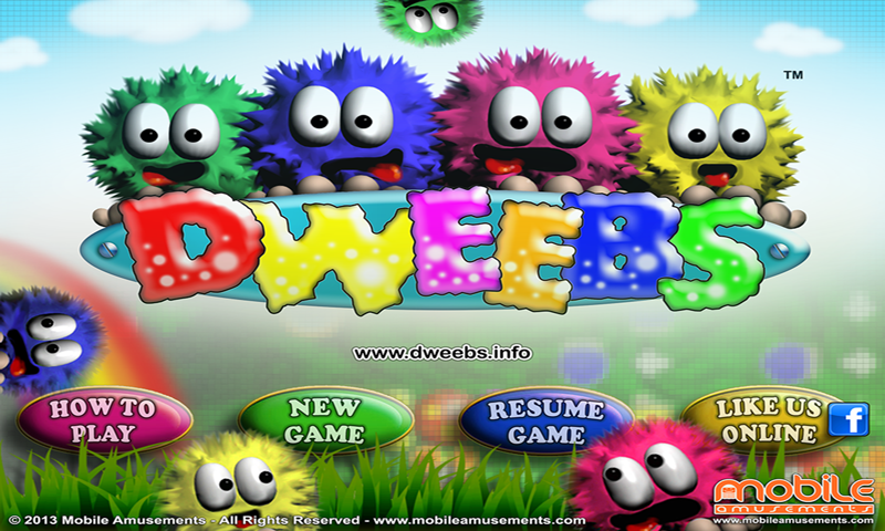 Dweebs™ Platinum Remix- screenshot