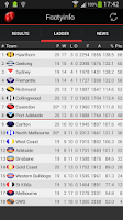 Screenshot of AFL - Footyinfo Live Scores