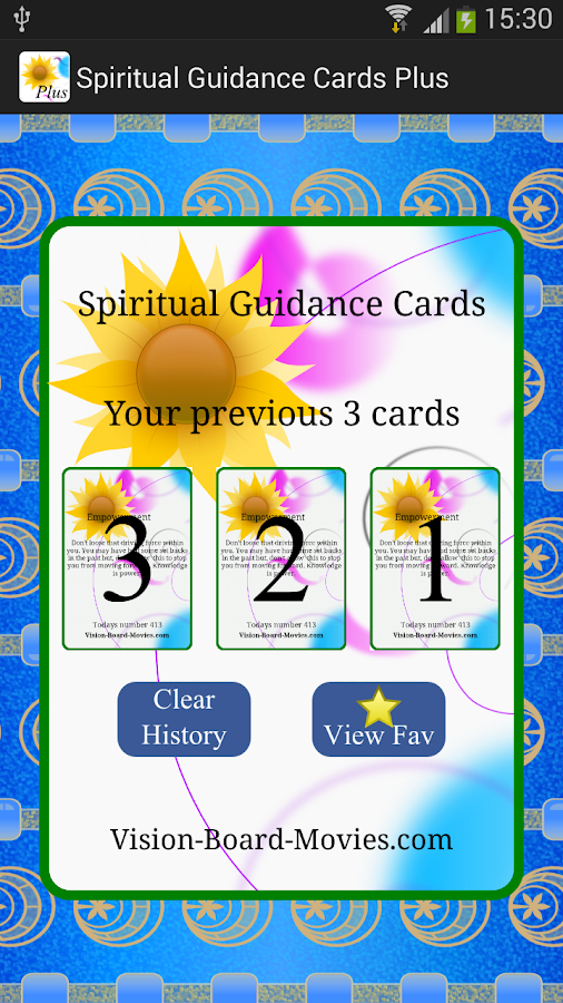 Spiritual Guidance Cards Plus- screenshot