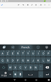 French Language - GO Keyboard Screenshot 8
