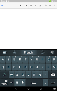 French Language - GO Keyboard- screenshot thumbnail