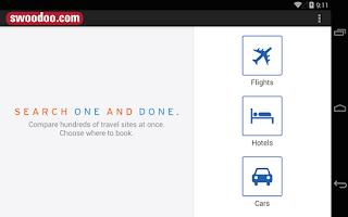 Screenshot of swoodoo - fly cheaper