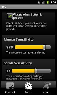 nJoy - Joystick up your device - screenshot thumbnail