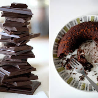 Chocolate Fudge Cake with a Secret.