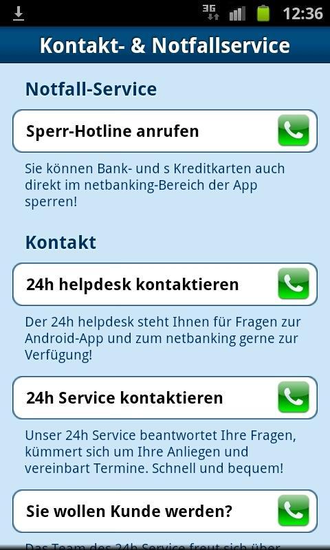 ErsteBank/Sparkasse netbanking- screenshot
