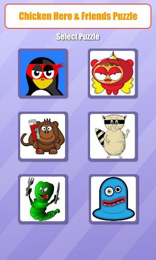 Chicken Hero Friends Puzzle