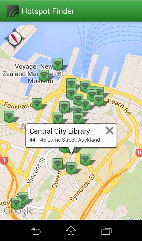 Hotspot Finder- screenshot