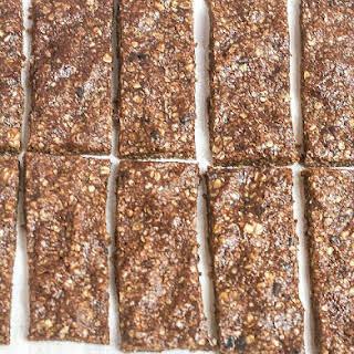 No Bake Chocolate Peanut Butter Granola Bars.
