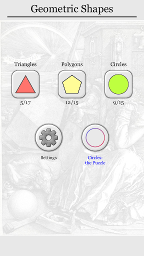Geometric Shapes: Triangles & Circle Geometry Quiz 2.0 screenshots 14