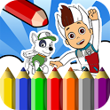 Coloring Book Paw Patrol icon