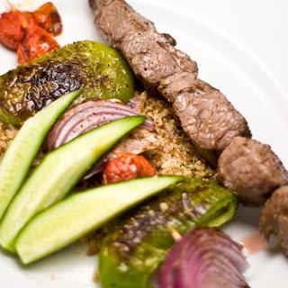 Lamb and Vegetable Kebabs