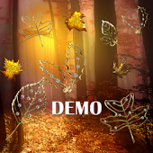 Fall Golden Diamond Leaf DEMO