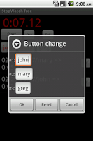 Screenshot of Adv. StopWatch free