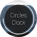 Circles Clock - UCCW Skin icon