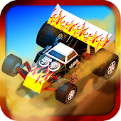 3D Desert Hill Climb Racing