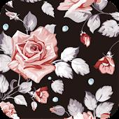 floral roses wallpaper ver105