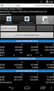 BlueMotion Logger screenshot 4