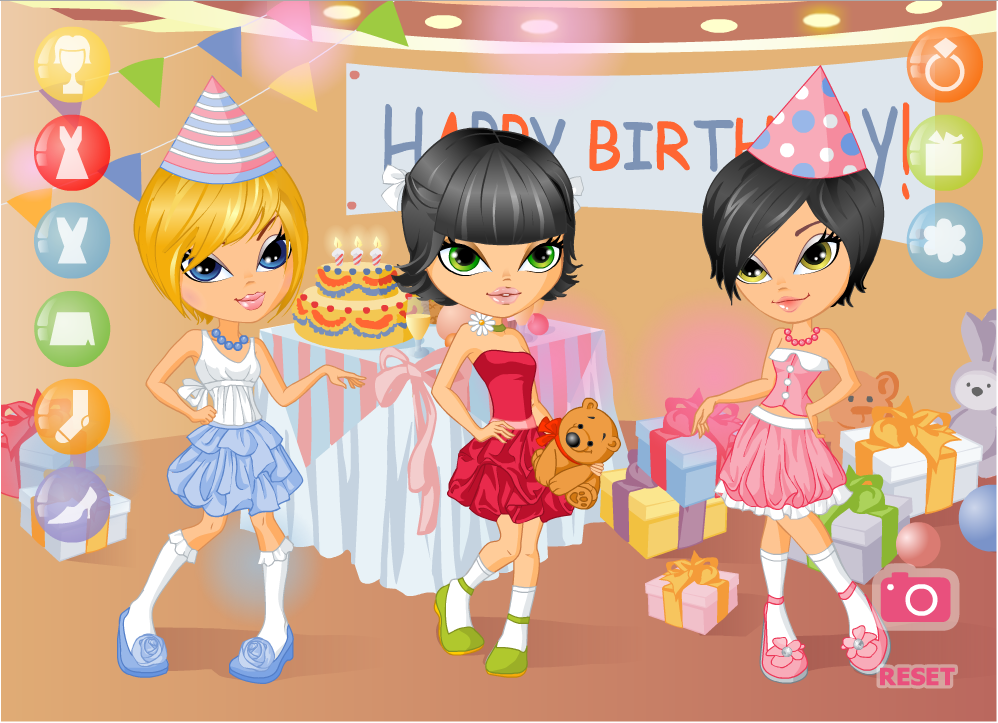 Birthday Party Dress Up - screenshot