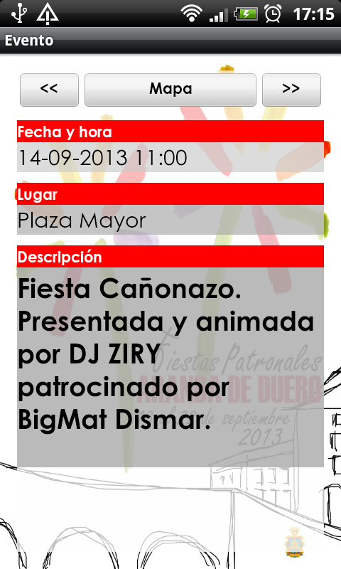 Fiestas de Aranda 2013 - screenshot