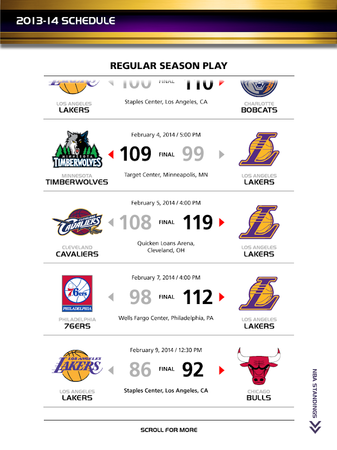 Inside The Lakers- screenshot