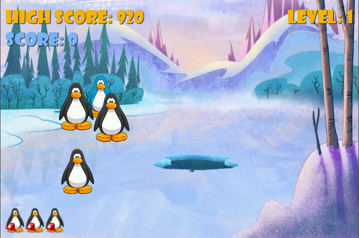Catch The Penguins- screenshot