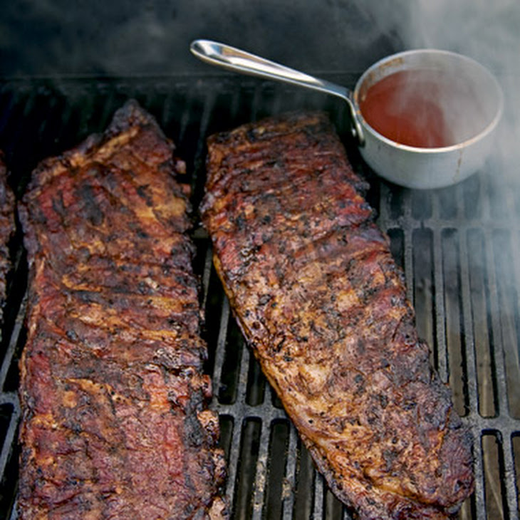 Memphis-Style Barbecued Pork Ribs