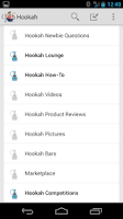 Screenshot of Hookah Forum