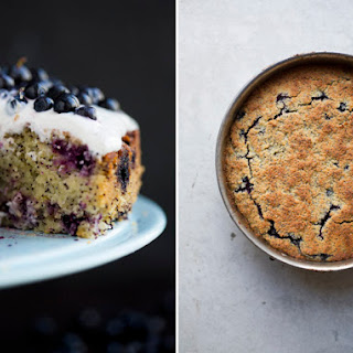 Blueberry, Lemon & Almond Cake.